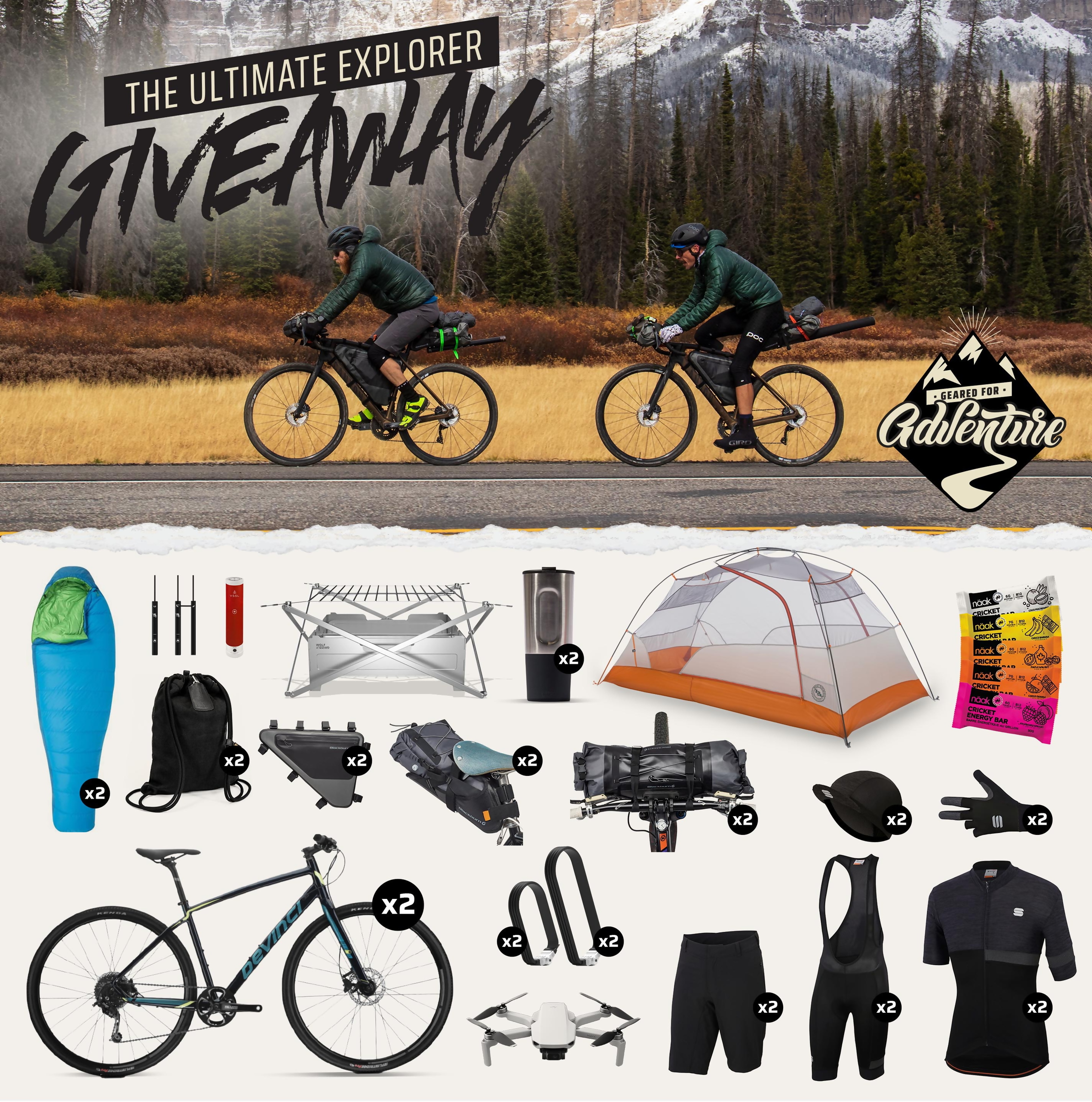 The Ultimate Explorer Giveaway