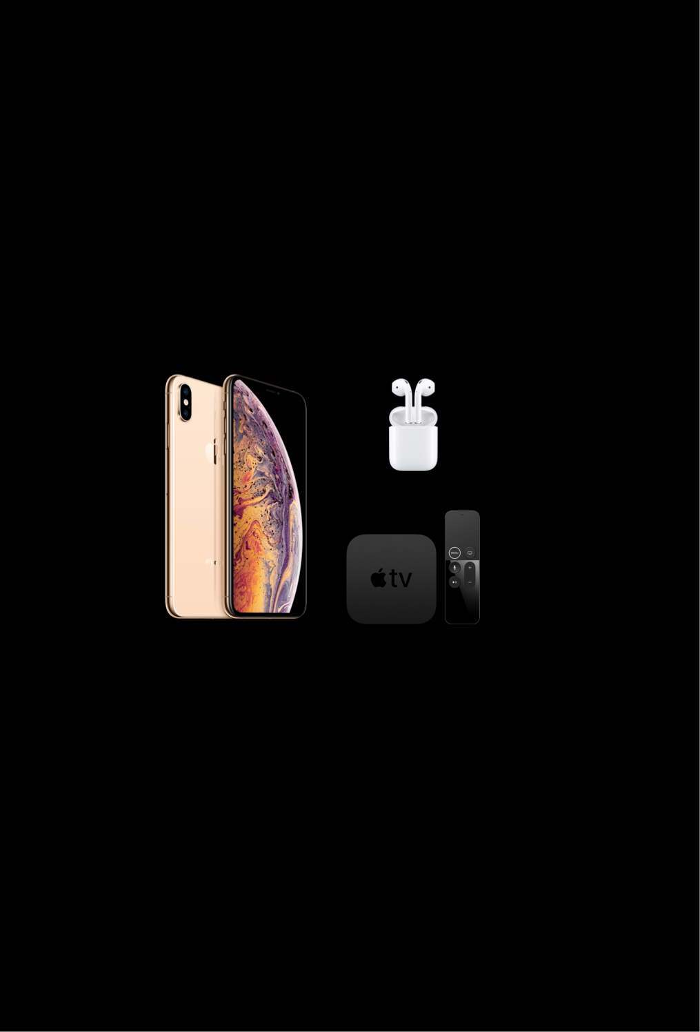 online contests, sweepstakes and giveaways - iPhone XS + AirPods + Apple TV 4K Giveaway